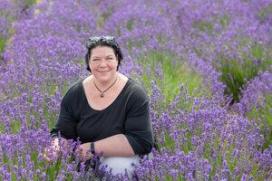 Beatrice Krammer Lavendelfeld